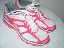 2011 Nike Air Max+ 2012 White/Dark Grey/Pink Running Shoes! Size 9.5 $160.00