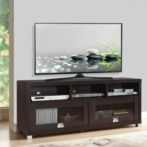 TV Stand 70 inch Flat Screen Entertainment Media Console Home Center Furniture