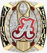 2015 -2016 Alabama Crimson Tide Football National Championship Ring Gift For Fan