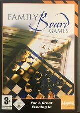 Family Board Games For PC CD-Rom Boxed (Free UK Post)