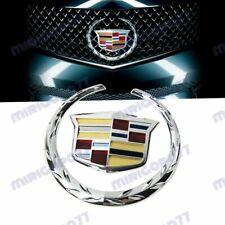 "For Cadillac Front Grille 6"" Emblem Hood Badge Logo Chrome Symbol Ornament X1"