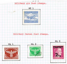 Germany WW2 Military Post stamps complete set 1942-44 MLH/U