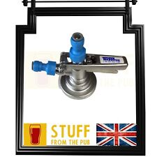 More details for grundy g-type keg coupler with 3/8 push-fit beer lager carling coors bud light