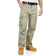New Mens Work Trousers Combat Heavy Duty 5 Pockets Cargo Outdoor Pro Trade Kit
