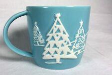 Starbucks Holiday Christmas Mug Blue Penguin Design 8oz - 2007 NEW