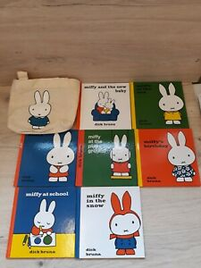 Dick Bruna MIFFY bundle of 7books HARDBACK Book bundle toddler baby books