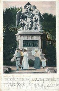 BASEL - Strassburger Denkmal - Switzerland - udb (pre 1908)