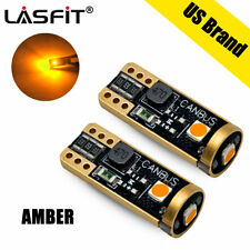 2x LASFIT Amber Color T10 192 198 164 W5W LED Interior Light Bulbs with Canbus