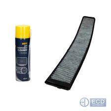 Innenraumfilter Pollenfilter Aktivkohle Filter BMW 3 E46 mit Klimaanlagereiniger