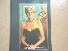 Niger Block **  1998 Tod Prinzessin Diana