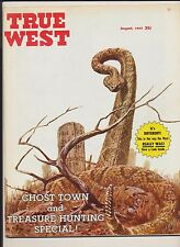 Vintage True West Magazine Ghost Town & Treasure Hunting Special August 1963