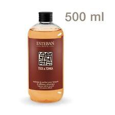 Nachfüllflasche Raumduft Esteban Paris Teck & Tonka Zimt und Patchouli XXL 500ml