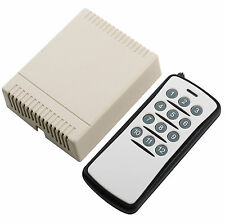 DC12V 12CH Channel Wireless RF Remote Control Switch Learning Code Transmitter