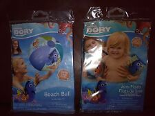 Finding Dory Beach Ball and Arm Floats Set