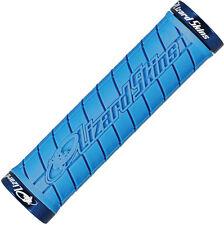 Lizard Skins Logo Lock-On Mtb Mountain Bike Locking Grips - Ice Blue
