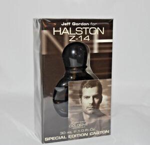 Jeff Gordon for Halston Z-14 cologne spray Special Edition Carton 1 oz Sealed