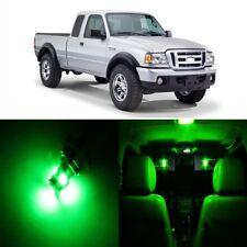13 x Ultra Green LED Interior Light Kit For 1998 - 2011 Ford Ranger + PRY TOOL