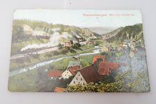 Alte AK / PK - Rupprechtstegen - Hartenstein - Veldensteiner Forst - Bahnstrecke