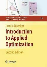 Introduction to Applied Optimization: Preliminary Entry 110 (Springer Optimizati