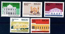 MACAO 1984 -  EDIFICI FAMOSI  SERIE NUOVA **