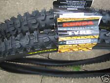 Pair of Kenda cycle bike tyres 26 x 2.10 brand new inc 2 FREE Kenda inner tubes