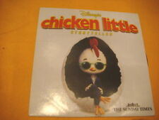 Cardsleeve Single CD CHICKEN LITTLE Storyteller 1TR 2006 audiobook DISNEY