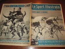 LO SPORT ILLUSTRATO GAZZETTA 1952/16 FAUSTO COPPI PARIGI-ROUBAIX RALF RAMSEY