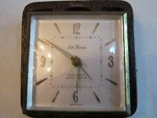 VINTAGE SETH THOMAS EIGHT DAYS SEVEN JEWELS TRAVEL CLOCK - NOT WORKING - TUB BB