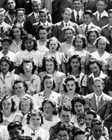 8x10 Print Marilyn Monroe Ralph Waldo Emerson Junior High School Class 1941#MCL