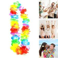 Fancy Hawaiian Flower leis Garland Necklace Dress/Party/Hawaii/Beach/Fun