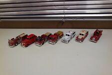 Corgi Diecast Firetruck FIRE HEROES x 7  (T5)
