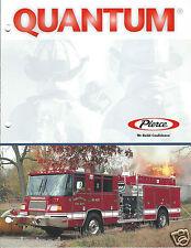 Fire Equipment Brochure - Pierce - Quantum - Fowlerville et al - 2000 (DB209)
