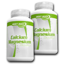 (10,37�'�/100g) Best Body Nutrition Calcium Magnesium 2 x 100 Kapseln