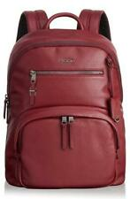 New $575 Tumi Voyageur Hagen  Leather Women's Backpack BRICK RED