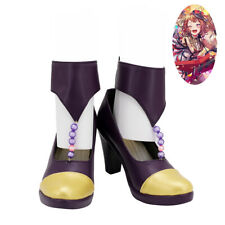 BanG Dream Poppin'party Shoes Cosplay Women Boots