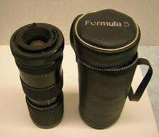 Formula 5 85-210mm Zoom Camera Lens f/4.5 w/ Case