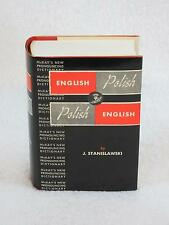 J. Stanislawski McKay's New Pronouncing Dictionary POLISH ENGLISH