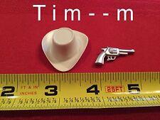 Custom Hat and Pistol for the Hartland Matt Dillon Figure 800 series