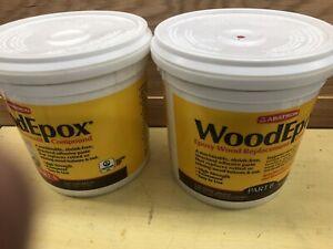 Abatron WoodEpox Epoxy Resin Wood Replacement Parts A & B, Kit (Open Box)