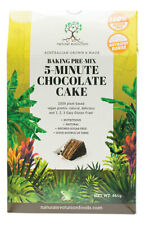 6 X 465g Natural Evolution Baking Pre Mix 5 Minute Chocolate Cake Gluten