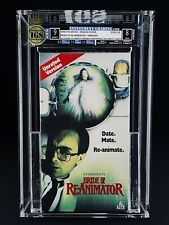 VHS Bride of Re-Animator IGS 9.0-8.0 MINT ALLIANCE/IVE - Date. Mate. Re-Animate.