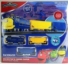 Bachmann Chuggington Brewster's Cargo Caper Train Set HO Scale NIB
