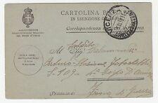 1916 FRANCHIGIA MILITARE CORRISPONDENZA DI FERITI IN GUERRA A/7854