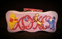 """Winnie The Pooh & Friends Tin Tote 9 x 4.25 x 2.5"""" 》"""