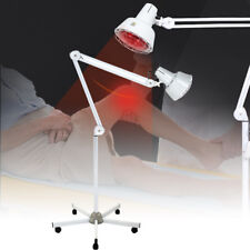 275w Floor Stand TDP Infrared Therapy Heat Lamp Health Pain Relief Physiotherapy