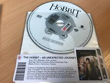 The Hobbit - AN UNEXPECTED JOURNEY  DVD -Disk ONLY