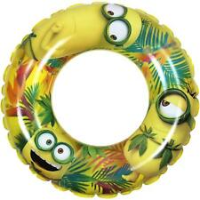 Despicable Me Minions Inflatable Swim Ring 20 inch Yellow 24017 GLDX New