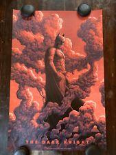Mondo The Dark Knight Batman Art Print Movie Poster By Boris Pelcer XX/250