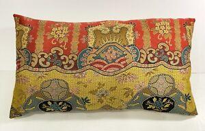 20th Century American Silk Pillow