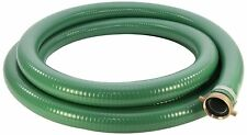 Abbott Rubber 1240-3000 PVC Suction Hose Assembly 3 Inch ID x 25 Feet, Green